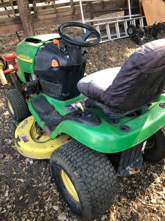 Photo John Deere L118 Lawn Mower - $700 (Santa Ynez Valley)