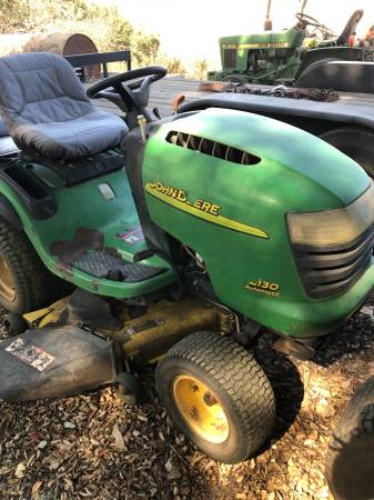 Photo John Deere L130 Lawn Mower - $900 (Santa Ynez Valley)