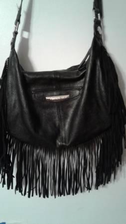 Photo Kathy Van Freeland Black Fringe purse - $15 (Nipomo)