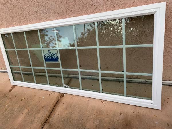 Photo New double pane vinyl French window - $300 (Calabasas)