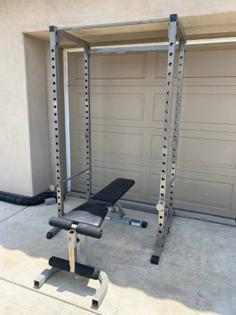 Photo Power Cage and Bench - $500 (Guadalupe)