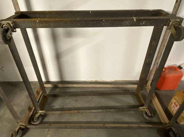 Photo Rolling Metal Frames (2) - $40 (Santa Maria)