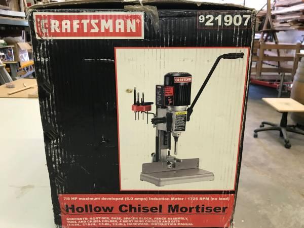 Photo Sears Craftsman Hollow Chisel Mortising Machine - $195 (Santa Maria)