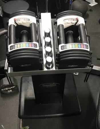 Photo Urethane PowerBlock Dumbbells 5-50lbs - $475 (Guadalupe)
