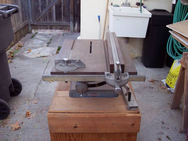 Photo VINTAGE CRAFTSMAN 10quot TABLE SAW  PARTS ONLY - $20 (Arroyo Grande)