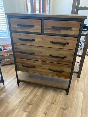 Photo World Market dresser and nightstand - $150 (Orcutt)
