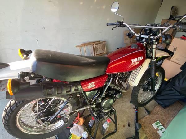 Photo Yamaha xt 250 dual sport - $3,000