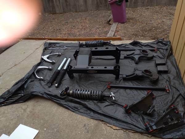 Photo pro comp complete 6 inch lift kit - $500 (Lompoc)