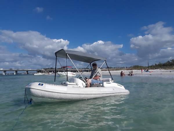 Photo 10.539 2005 Nautica RIB Jet Boat - $6,000 (Palmetto)