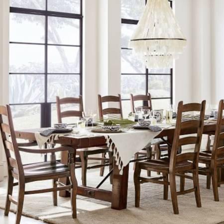 Photo 10 PIECE DINING SET - POTTERY BARN - $4,599 (VENICE)
