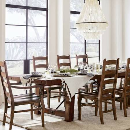 Photo 10 PIECE DINING SET - POTTERY BARN - $4,599 (VENICE)