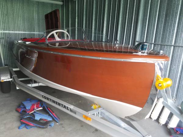 Photo 1948 Chris-Craft 17 Runabout w Motor  Trailer in MINT Condition - $20,990 (Sarasota)