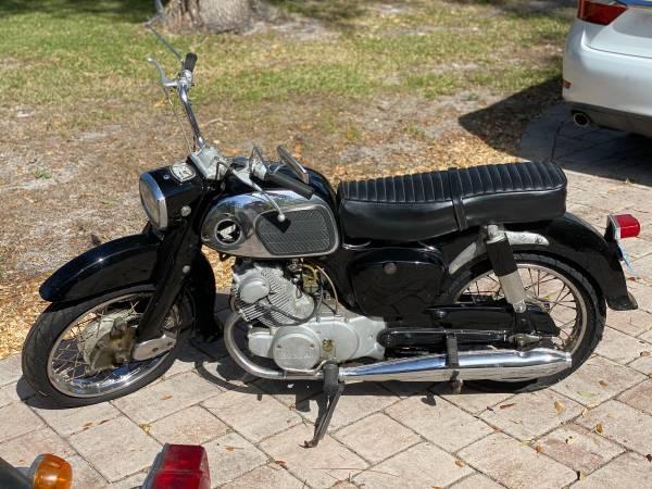 Photo 1966 Honda Dream - $3,700 (Sarasota)