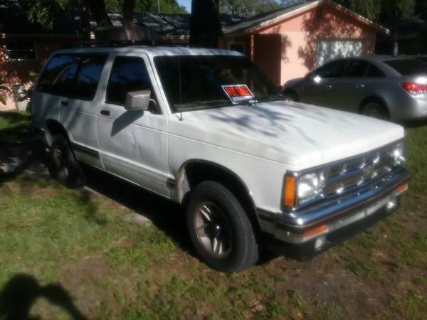 Photo 1994 Chevy blazer 2wd - $1200 (Sarasota)