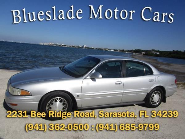 Photo 2001 BUICK LESABRE LIMITED SENIOR FL LOW MI CLEAN - $2,950 (Blueslade Motor Cars 2231 Bee Ridge Rd)