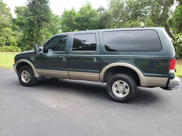 Photo 2001 Ford Excursion 7.3 Limited 4x4 - $8,500 (Bradenton)