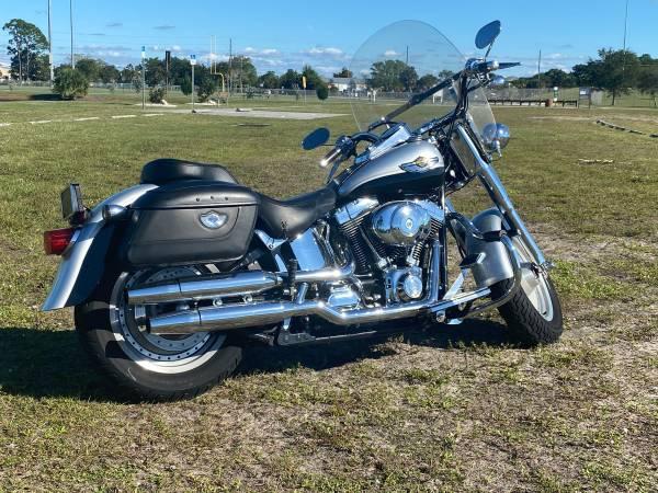 Photo 2003 Harley Davidson Fat Boy 100th Anniversary - $7,800 (Englewood)