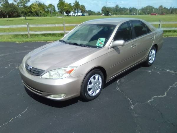 Photo 2003 TOYOTA CAMRY BUY HERE PAY HERE - $5,900 (SARASOTA)