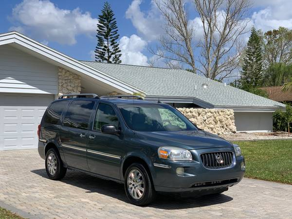 Photo 2005 BUICK TERRAZA CXL MINIVAN LEATHER 3RD ROW -DVD-RELIABLE - $2450 (SARASOTA)