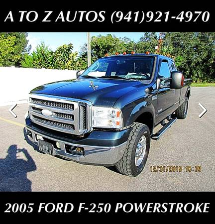 Photo 2005 FORD F-250 SUPER DUTY - POWERSTROKE DIESEL - $9900 (A TO Z AUTOS - YOUR 1 BUY HERE PAY HERE)
