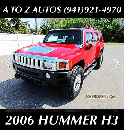 Photo 2006HUMMERH34X4 - $9900 (A TO Z AUTOS - YOUR 1 BUY HERE PAY HERE)