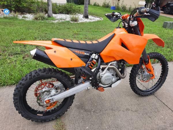 Photo 2006 KTM EXC-G 450 - $4,250 (Palmetto)
