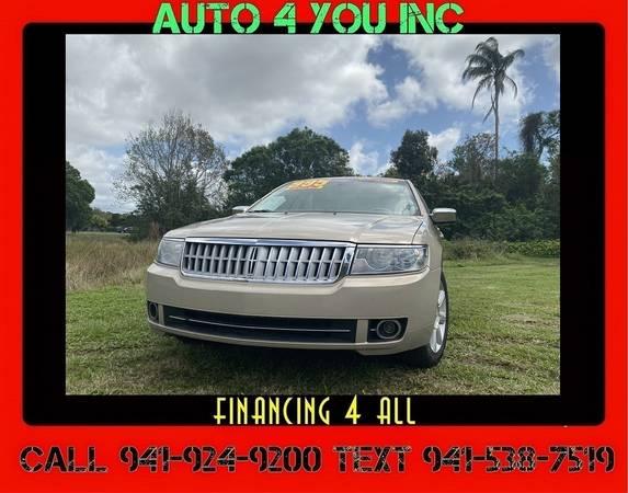 Photo 2007 Lincoln MKZ  $995 Down  Warranty  Auto4you - $4995 (5350 Mcintosh Rd Sarasota, FL 34233)