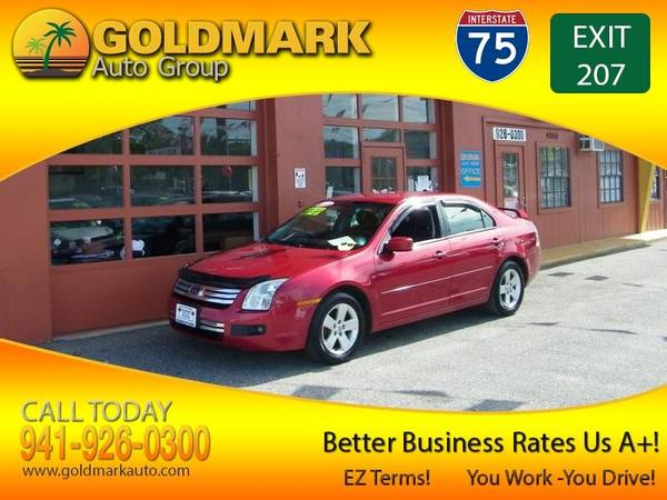 Photo 2008 Ford Fusion SE CLEAN WOW CALL NOW FROM $499 DOWN EVERY1 RIDES - $1 (GOLDMARKAUTO.COM NO CREDIT WILL BE REFUSED)