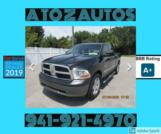 Photo 2010 DODGE RAM 1500QUAD CAB - $10900 (A TO Z AUTOS - YOUR 1 BUY HERE PAY HERE)