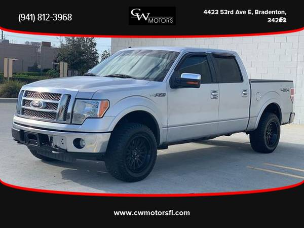 Photo 2010 Ford F150 SuperCrew Cab - Financing Available - $7999