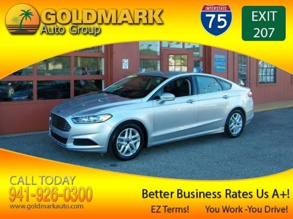 Photo 2015 Ford Fusion SE GORGEOUS WOW CALL NOW FROM $499 DOWN - $1 (GOLDMARKAUTO.COM HOME OF THE 1ST TIME BUYER PROGRAM CALL NOW)
