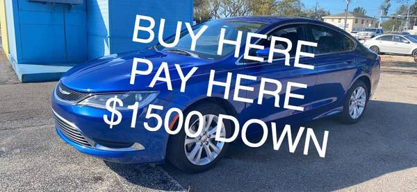 Photo 2016 Chrysler 200 $1500 down BUY HERE PAY HERE - $10500 (Bradenton)