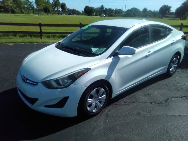 Photo 2016 HYUNDAI ELANTRA 93K MILES BUY HERE PAY HERE - $10,900 (SARASOTA)