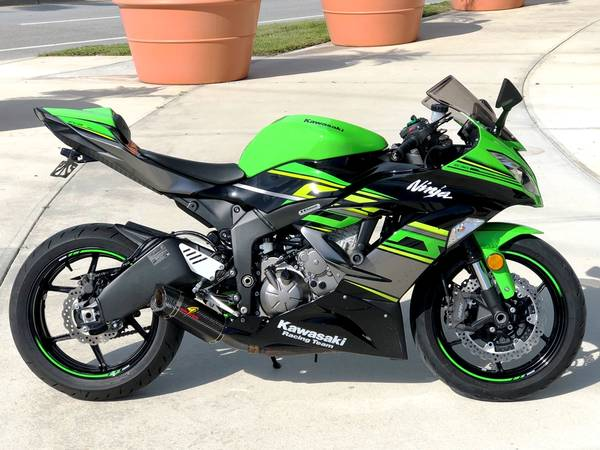 Photo 2018 Kawasaki Ninja ZX6R KRT - $7,999 (Sarasota)