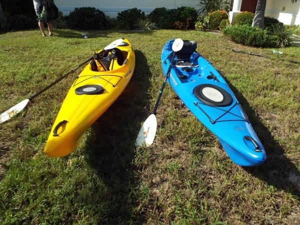 Photo 2-1439 Wilderness Systems Kayak39s - $999 (PLACIDA)