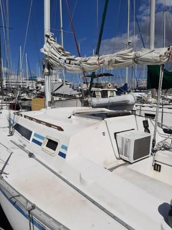 Photo 28.539 Hunter sail boat - $2,950 (St. Petersburg)