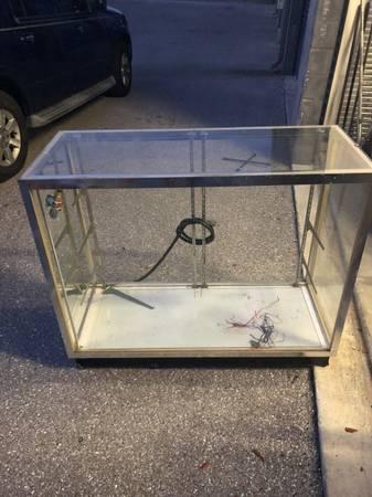 Photo 2 glass showcase displays (Sarasota)