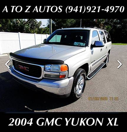 Photo 3RD ROW SEATING 2004 GMC YUKON XL - $6900 (A TO Z AUTOS - YOUR 1 BUY HERE PAY HERE)