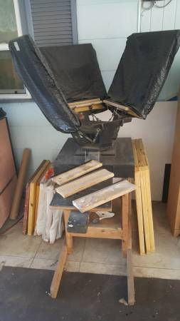 Photo 4 Color Screen Printing Press with Extras - $450