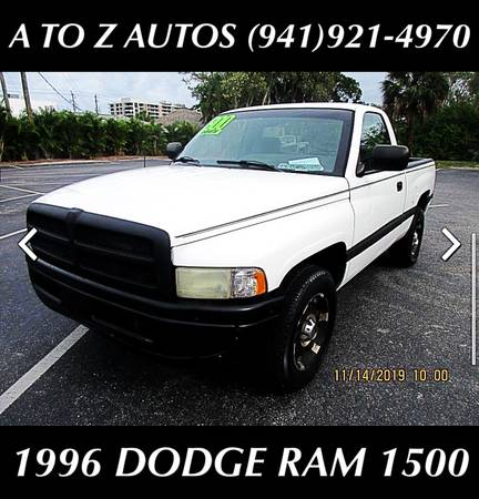 Photo $50 WK - $800 DOWN 1996 DODGE RAM 1500 - $3500 (A TO Z AUTOS - YOUR 1 BUY HERE PAY HERE)