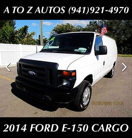 Photo 6 VANS TO CHOOSE FROM - 2014 FORD E-150 CARGO - $10900 (A TO Z AUTOS - YOUR 1 BUY HERE PAY HERE)