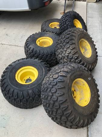 Photo 6x4 John Deere Gator wheels. - $300 (Lakewood ranch)