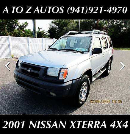 Photo $800 DOWN 2001 NISSAN XTERRA 4WD - $3900 (A TO Z AUTOS - YOUR 1 BUY HERE PAY HERE)