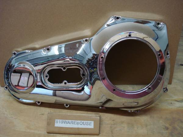 Photo 99-06 Harley Dyna 99-06 Softail Chrome Engine Outer Primary Cover 6050 - $50 (Sarasota Whitfield301)