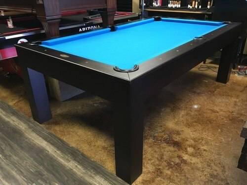Photo Black Slate Dining Pool Table- Free Delivery - $3499 (Sarasota)