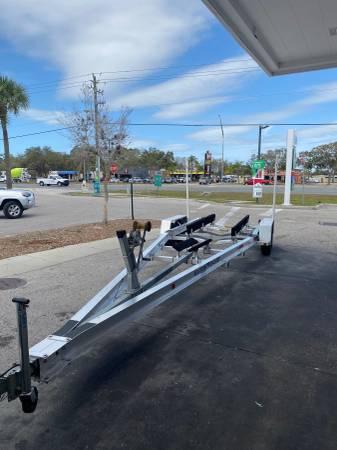 Photo Boat Trailer Rental - $80