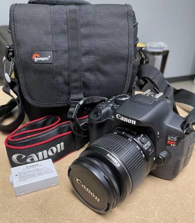 Photo Canon EOS Rebel T4i 18.0MP Digital SLR Camera  EF-S IS II 18-55mm Len - $359 (Sarasota)