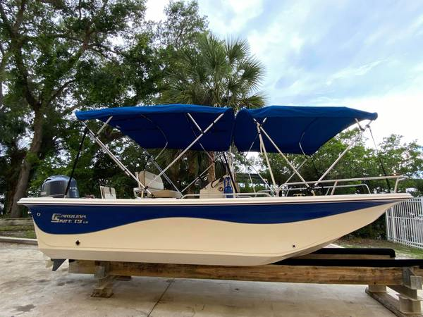 Photo Custom 2020 Carolina Skiff 19 LS with Yamaha F115 - $34995 (Osprey)