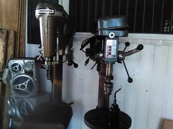 Photo Drill Presses Floor mount - $50 (Palmetto)