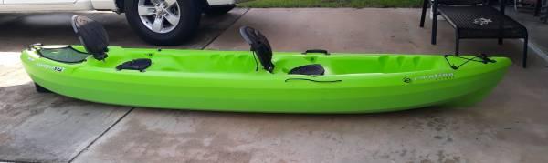 Photo Emotion Kayaks - Two seat leisure kayak w paddles - $700 (Bradenton)